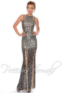 Precious Formals Dress P9065 at Peaches Boutique