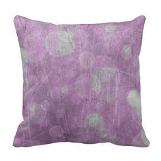 "Purple Bokeh Polyester Throw Pillow 16"" x 16"" #pillow #accentpillow #throwpillow #homedecor #interiordesign #fashion #style #trend #homedecorating #interiordecorating #roommakeover"