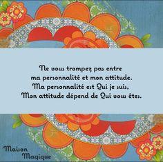 Personnalité-Attitude