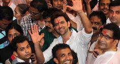 Hrithik Roshan visits Lalbaugcha Raja