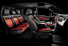 Ford Raptor interior #cardealsguru #houston #ford   If you love fast car and want the versatility of a truck, then raptor is the vehicles of choice... I like to think of the raptor as the Ferrari of trucks.