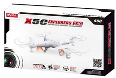 Take to the skies effortlessly with the Syma X5C Explorers Quadcopter Camera Drone. Find many Syma X5C Explorers Quadcopter Camera Drones for sale at cheap prices.