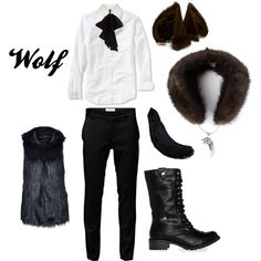 """""""Into the Woods - Wolf"""" by masterofsporks on Polyvore"""