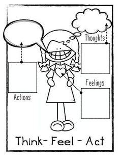 Using Cognitive Behavioral Therapy with Younger Students - Social Emotional Workshop Therapy Worksheets, Therapy Activities, Play Therapy, Therapy Tools, Therapy Ideas, Speech Therapy, Elementary School Counseling, School Social Work, School Counselor