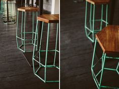 hu'u bistro bar chairs #huubistro #barchairs #retro #furnituredesign #abstract #bali #seminyak