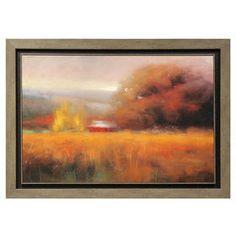 42 X 30-in Misty Field Gallery Art