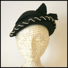 Tuppence Ha'penny: Shop my hat collection! 1950s hat