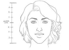 Learn how to draw a face in 8 easy steps: Beginners | RapidFireArt