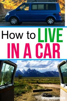 6b3dfb21631390 How to live in your car  Prepping your car