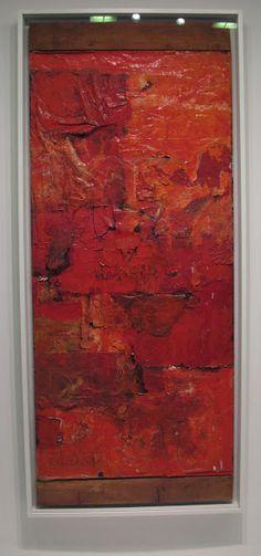 Judith I Bridgland: Favourite Paintings - Rauschenberg's Untitled (Red Painting) at the Guggenheim Museum, New York David Choe, Robert Rauschenberg, Art Abstrait, Archaeology, Metallica, Pop Art, Contemporary Art, Museum, Artwork