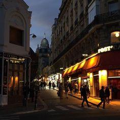 Paris la nuit  #Paris #parisphoto #igersfrance #nofilter