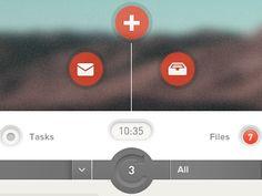 Collaborator Dashboard Interface Elements