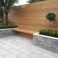 Our stone cladding walls replicate natural stones to give your garden walls the look and feel of natural stone. Natural Stone Cladding, Natural Stone Wall, Natural Stones, Garden Wall Designs, Garden Design, Fence Wall Design, Beautiful Home Gardens, Walled Garden, Terrace Garden