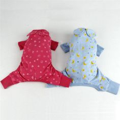 Dog-Clothes-Jumpsuit-Pet-Product-Clothing-Puppy-Shirt-Cat-Cozy-Pajama-Rose-blue