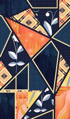 O que o homem superior busca está em si mesmo; o que o homem inferior busca está nos outros. Textile Pattern Design, Textile Patterns, Pattern Art, Fabric Design, Print Patterns, Print Design, Army Wallpaper, Textile Prints, Fabric Painting