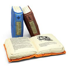 Olde Book Pillow Classics | ThinkGeek