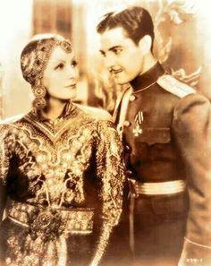 "Greta Garbo & Ramon Navarro in "" Mata Hari """