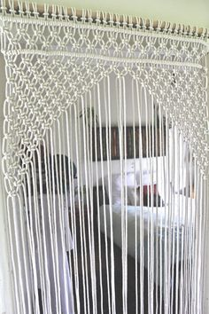 Macrame Door certain Macrame door arch by JBFreespirit on Etsy