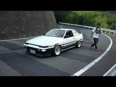 Sato-san AE86 with Nakagawa-san