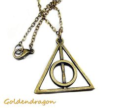 HP Fans Necklace Hot Charm Pendant Necklace by GoldendragonUS