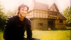 Richard Armitage as Sir Guy of Gisborne, in Robin Hood Behind the scenes Most Beautiful Man, Gorgeous Men, Robin Hood Bbc, Miranda Hart, Joining The Army, King Richard, Monty Python, Ares, Good Smile