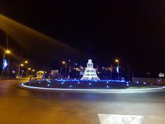 Allauch La Fontaine ⛲ #fontaine #nuit #fetesdeslumieres #fetes #noel #culture #patrimoine #allauch #decoration