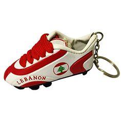 Football Soccer Futbol Mini Shoe KeyChains KeyRings – Asia