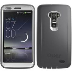 LG G Flex LS995 Compatible Otterbox Defender Rugged Interactive Case and Holster - Glacier - $54.95