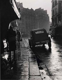 Todd Webb      rue des Plantes, Paris        1950