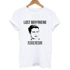 Lost Boyfriend Please Return Dylan O'Brien tshirt #clothing