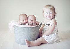 twin photo with sibling - must do something like this!!!
