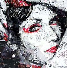 Collage Artist Derek Gores | Bangstyle :: A Global Image Community for Hair