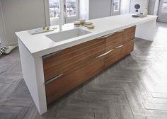 arbeitsplatten für die küche - aus holz, naturstein und keramik, Kuchen deko