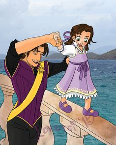 Tangled the series Disney Pixar, Disney Rapunzel, Disney E Dreamworks, Disney Princess Art, Disney Memes, Disney Fan Art, Disney Animation, Disney Characters, Tangled Rapunzel