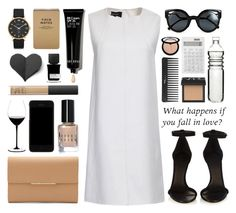 """""""What happens if you fall in love?"""" by laurasuursepp ❤ liked on Polyvore featuring Isabel Marant, Cuyana, Fendi, Sephora Collection, NARS Cosmetics, Marc by Marc Jacobs, Dolce&Gabbana, Dot & Bo, Muji and Riedel"""