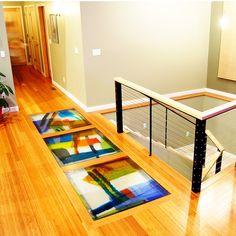 cast glass Floors  I WANT IT!!