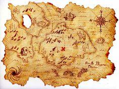 Thème iconographique de la carte au trésor. 229