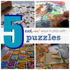 17 Clever Ways to Re-purpose Your Puzzles