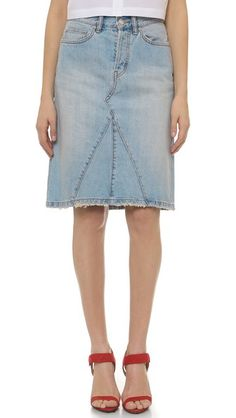 Marc by Marc Jacobs Icon Mid Length Skirt