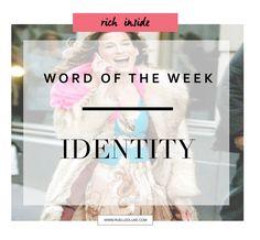 Wie ben jij? En kunnen we dat terug zien in je kleding stijl? Een specifieke stijl of een mix van stijlen? It doesn't matter. Dare to share your authentic identity!  . www.ruelledluxe.com
