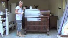 Blue Egg Brown Nest Annie Sloan Chalk Paint Tutorial #1, via YouTube.