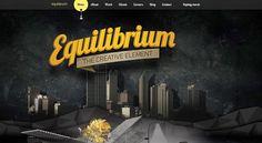 Equilibrium - Creative Website Design