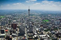 Aerial view of downtown Johannesburg, South Africa Johannesburg City, Living In Europe, African History, Africa Travel, Aerial View, South Africa, Landscape Photography, Paris Skyline, Southern