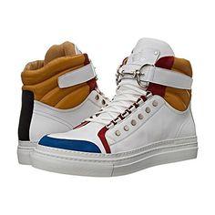 (チェザーレ パチョッティ) Cesare Paciotti メンズ シューズ・靴 スニーカー Color Block High Top Sneaker 並行輸入品  新品【取り寄せ商品のため、お届けまでに2週間前後かかります。】 表示サイズ表はすべて【参考サイズ】です。ご不明点はお問合せ下さい。 カラー:Denim/White Calf