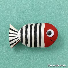 Fish Toilet paper roll craft