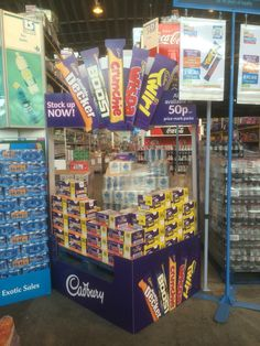 Temporary POS Design - 3D Design - Cardboard Design - In-Store Display - Pallet Wrap - Cadbury POS