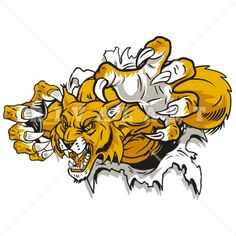 Wildcat Mascot Clip Art | HD | Spirit shirts, Wildcats logo, School shirt  designs