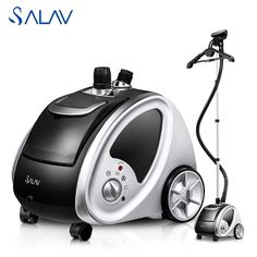 SALAV 1500W 220V Garment Steamer 45s Stainless Steel Nozzle Vertical Steamer Ironing Clothes Steamer Iron Steam Brush GS29-BJUK