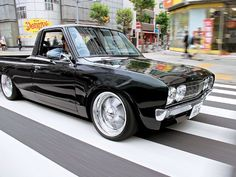 Datsun 620 , Love these Early Trucks .Look like 70 Chevelle Grills..