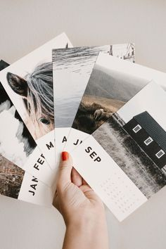 Bring the best of last year into 2018. Create a Calendar Refill Pack like the one here pictured by @joanie_bier.